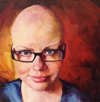 """""""12-02 - Kristen"""" original fine art by Elizabeth Dawn Johnston"""