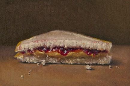 """PB & J    (+ Private Painting Mentoring Contest Winner)"" original fine art by Abbey Ryan"