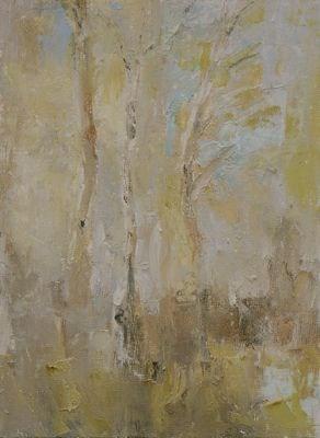 """""""Aspen II"""" original fine art by Susan Hammer"""