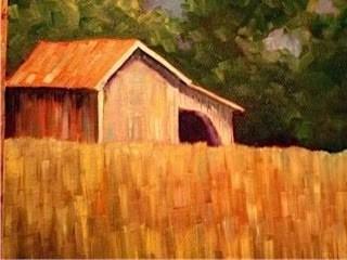 """September"" original fine art by Maggie Flatley"