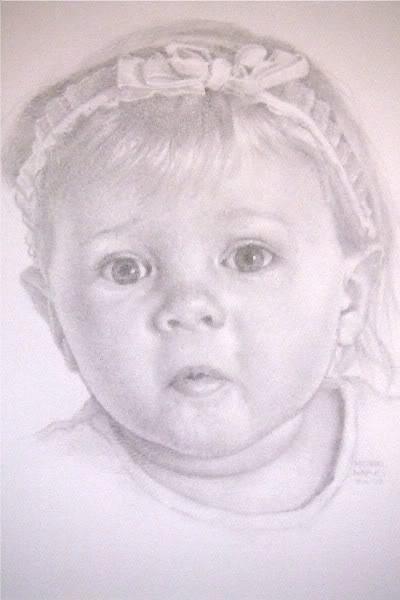 """New Portrait and a Little Update"" original fine art by Michael Naples"