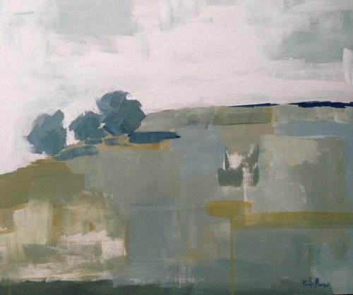 """Three on the Hill"" original fine art by Pamela Munger"