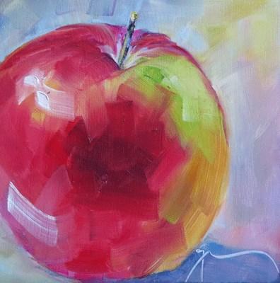 """""""An Apple A Day"""" original fine art by Gigi ."""