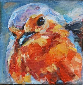 """""""Day 20 of 30 - Are You My Mommy?"""" original fine art by Carol DeMumbrum"""