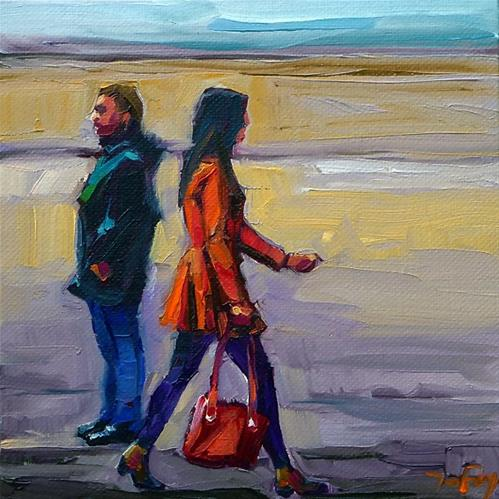 """""""rote Tasche"""" original fine art by Jurij Frey"""