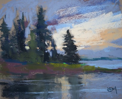"""Last Days in Finland"" original fine art by Karen Margulis"