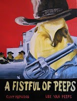 """A Fistful of Peeps"" original fine art by Geraud Staton"