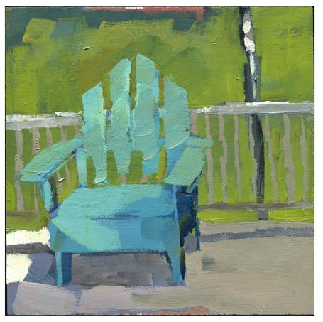 """#782 Onlookers"" original fine art by Lisa Daria"