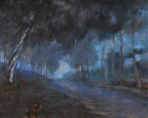"""""""Fog"""" original fine art by Kevin Inman"""