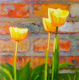 """For Colette"" original fine art by Ken Devine"