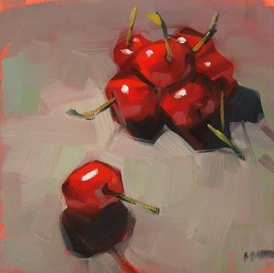"""Flee --- SOLD"" original fine art by Carol Marine"