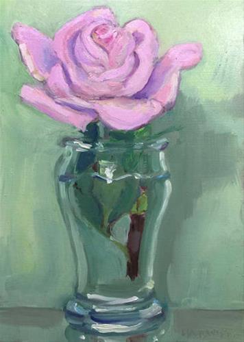 """""""Philadelphia Flower Show Week"""" original fine art by Merle Manwaring"""