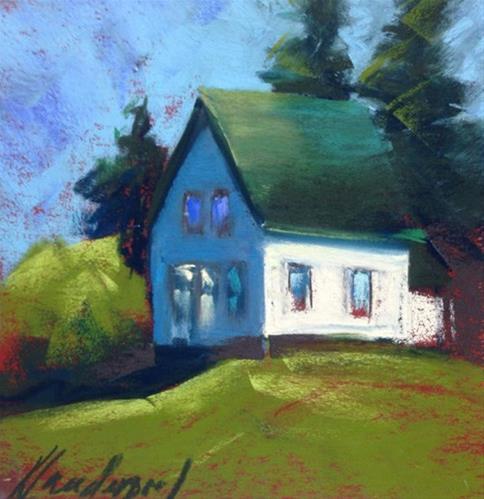"""""""Waiting Patiently"""" original fine art by Karen Vanderpool"""