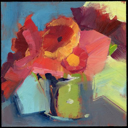 """2382 backtrack"" original fine art by Lisa Daria"