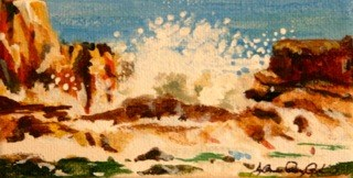 """Splash"" original fine art by JoAnne Perez Robinson"