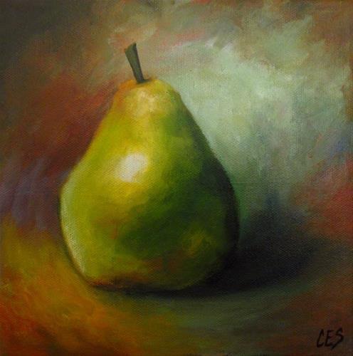 """""""A Pear For You"""" original fine art by ~ces~ Christine E. S. Code"""