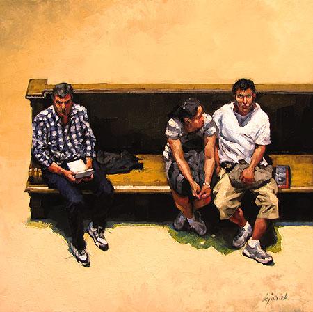 """""""Untied"""" original fine art by Karin Jurick"""