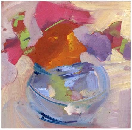 """""""2633 Reverie"""" original fine art by Lisa Daria"""