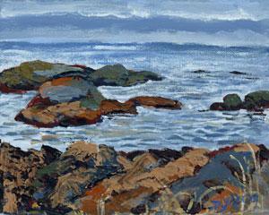 """McCauley Point"" original fine art by Darlene Young"