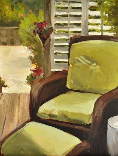 """Sanctuary"" original fine art by Jessica Green"