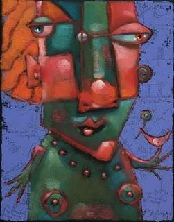 """Robin Red Breast"" original fine art by Brenda York"