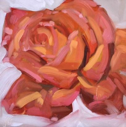"""""""Rose"""" original fine art by Jessica Green"""