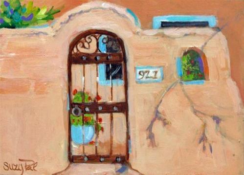 """Santa Fe #21"" original fine art by Suzy 'Pal' Powell"