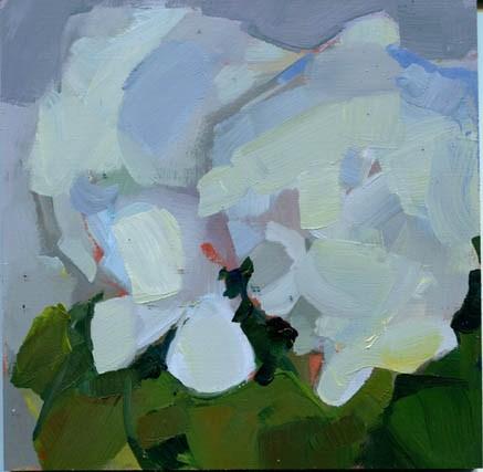 """1108 A Lot of Blue"" original fine art by Lisa Daria"