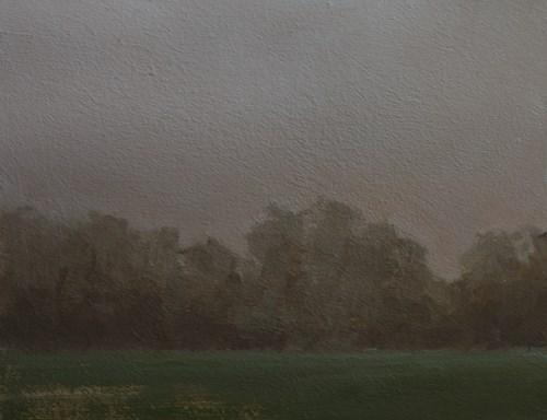 """""""Trees in Mist"""" original fine art by Neil Carroll"""