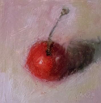 """The Flirt"" original fine art by Cindy Haase"