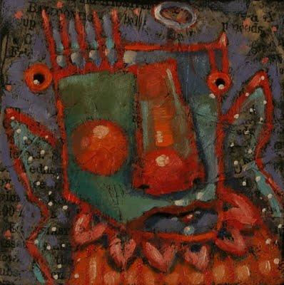 """Recession Angel #2, Cherub Of Chapter 11"" original fine art by Brenda York"