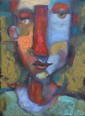 """Loose Ends"" original fine art by Brenda York"