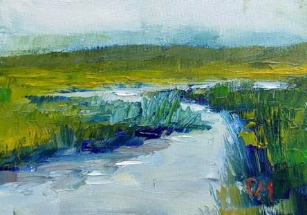 """""""Meander"""" original fine art by Pamela Munger"""