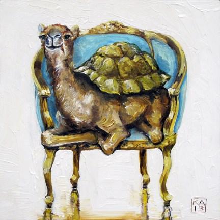 """""""humpty hump"""" original fine art by Kimberly Applegate"""