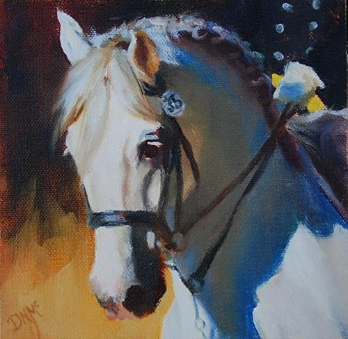 """My first blog entry21"" original fine art by Dorothy McLennan"
