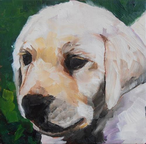 """#30 - The Premier of the Pups"" original fine art by Elizabeth Dawn Johnston"