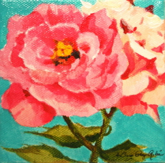 """Sunday's Roses"" original fine art by JoAnne Perez Robinson"