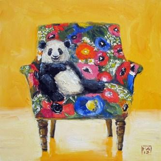"""pandering"" original fine art by Kimberly Applegate"