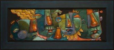 """Rank And File, #1 and 2"" original fine art by Brenda York"