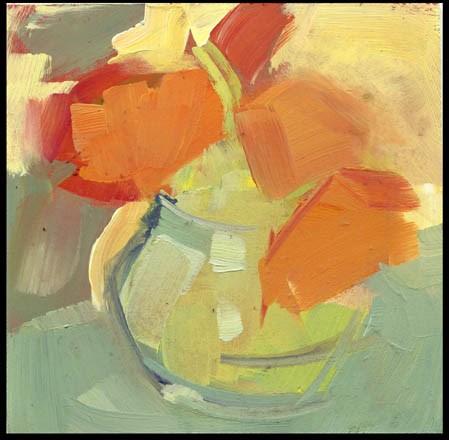 """2458 Mild"" original fine art by Lisa Daria"