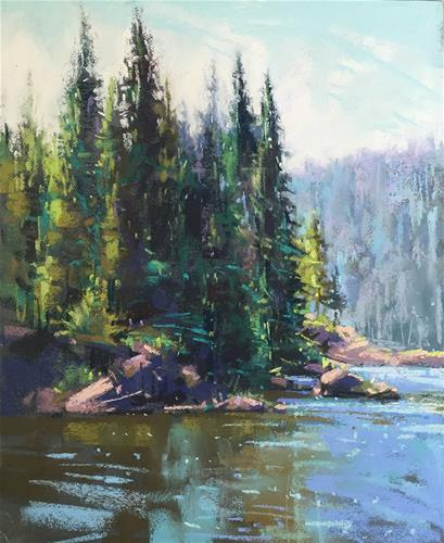"""Sparks Lake"" original fine art by Marla Baggetta"