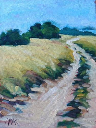 """""""Windidng Road"""" original fine art by Mary Anne Cary"""