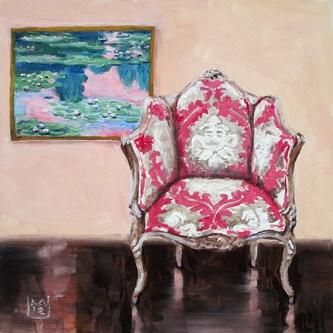 """pinks"" original fine art by Kimberly Applegate"