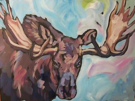 """""""Rack Front On"""" original fine art by Kat Corrigan"""