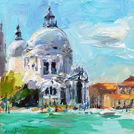 """Venedig3"" original fine art by Jurij Frey"
