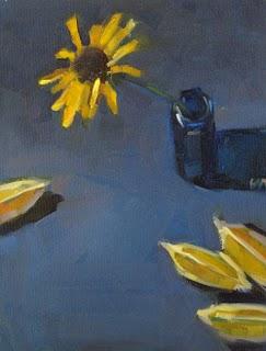 """Admirers --- SOLD"" original fine art by Carol Marine"