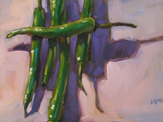 """One Across"" original fine art by Carol Marine"