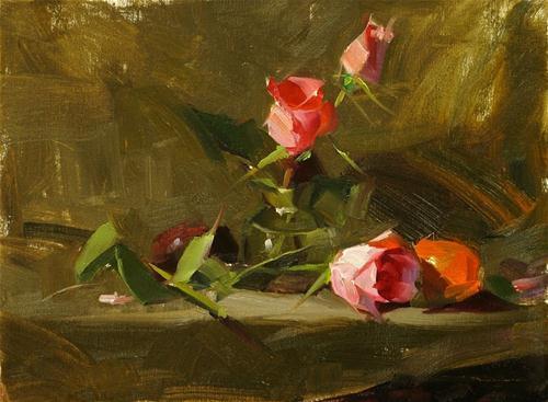 """Demo at Magnolia 3 --- Sold"" original fine art by Qiang Huang"
