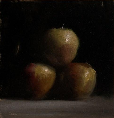 """""""Apples"""" original fine art by Neil Carroll"""