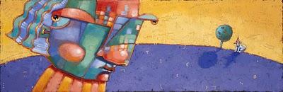 """Dog One: The Sprinter"" original fine art by Brenda York"